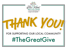Thank You for supporting our local community